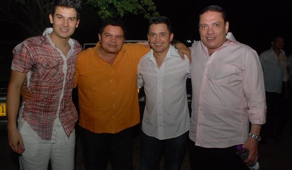 Pipe Bueno, Alvaro L+¦pez, Jorge Celed+¦n y El Cocha Molina